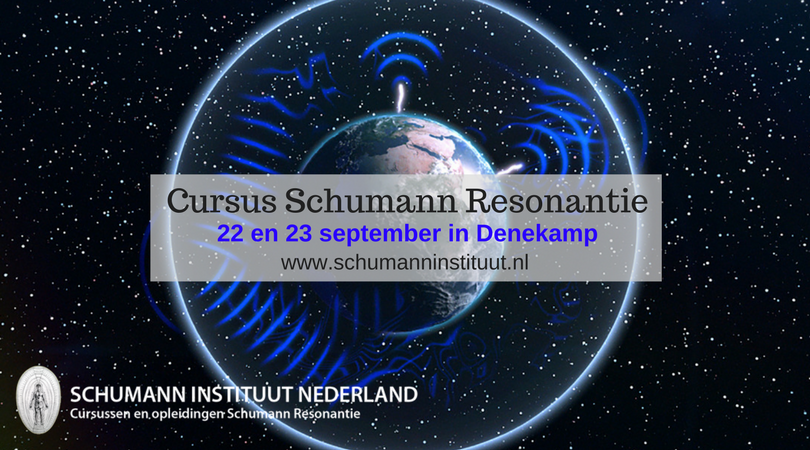 Cursus Schumann Resonantie 22-23 september 2018 in Denekamp